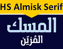HS Almisk Serif from HibaStudio