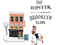 The Hipster illustration