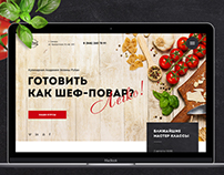 Website for the Culinary Academy