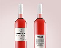 Francisca Wine label