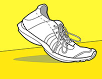 Shoe Technical Illustration