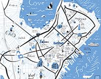 Map of Portland Maine