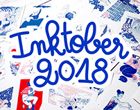 Illustrations • Inktober 2018