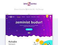 Zemin İstanbul Living Lab Web Site Ui-Ux Design