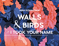 Walls & Birds gig poster