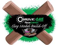 Clay Model Build-Off Logo For Cleveland Autorama
