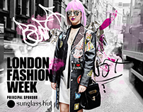 London Fashion Week x Prince Láuder