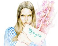 Nylon Korea 2015 April Illustration