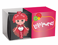 Lalaloopsy Watch and Packaging Design