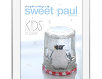Sweet Paul Holiday Kids Magazine for the iPad