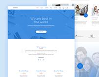Themeunix Multipurpose Landing Page Concept