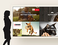 Purina Touchwall