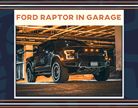 Ford Raptor Photoshoot