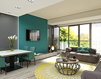 My Dream Residence (interior design and 3D render)