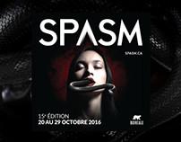 Visuel du festival Spasm 2017
