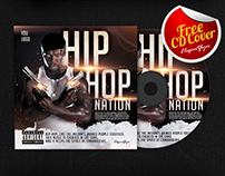 Hip-Hop Nation- FREE CD Cover PSD Template