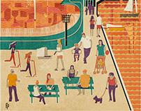 Maldon - Promenade Park Poster