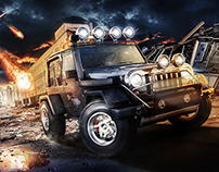 Jeep Wrangler War