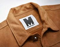 Free Jacket Neck Logo Mockup