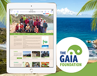 Gaia Foundation Website proposal