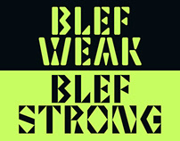 Blef Typeface