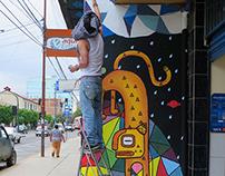 Mural - Jaguar