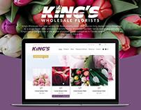 King's Wholesale Florists project