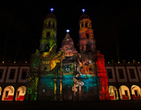 Video Mapping Art- Zapopan, Mexico