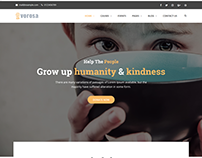 Vorosa - Charity Fundraising WordPress Theme