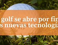 El golf se abre por fin a las nuevas tecnologías