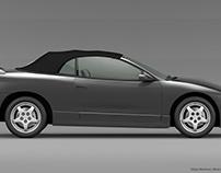 Mitsubishi Eclipse 2nd gen