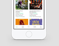 "UX/UI | Uns app ""Refugees in Berlin"""