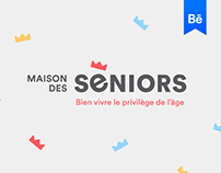 Seniors' house - Brand design