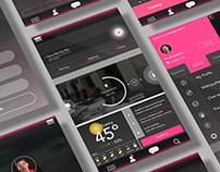 Schedule App design | ES diary