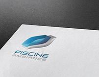 Piscine Ambiance Logo design