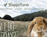 HAPPYFARM - Brochure and Website