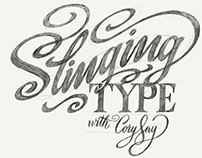 Skillshare Class: Slinging Type with Cory Say