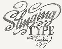 Skillshare Class: Slinging Type with Cory Say