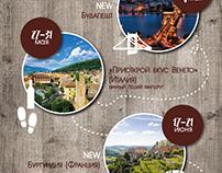 План путешествий 2016 для Taste of travel