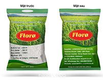 Bao bì gạo Flora