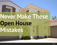 Never Make These Open House Mistakes