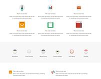 Info Box Element Page - Construction WordPress Theme