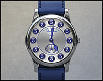 Smart Watch Face Design - Parisienne