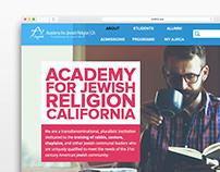 AJRCA Website Concept