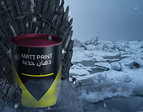iron Throne paint