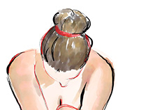Buch Illustration Wir dicken Frauen und unsere Irrtümer