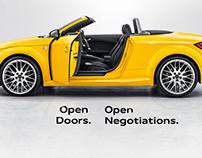 Audi ' Open Haus' by Gary Sheppard