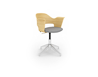 Free 3D Model: Fjallberget chair by Ikea
