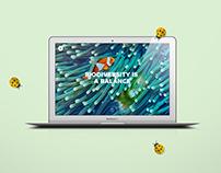 BeBiodiversity Webdesign