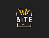 BITE Fries Branding